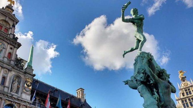 07|11Découverte De La Ville D'Anvers