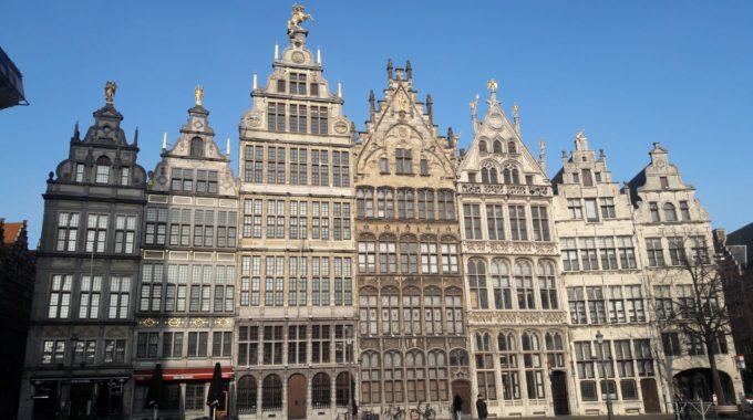21|01[Visite] Découverte De La Ville D'Anvers